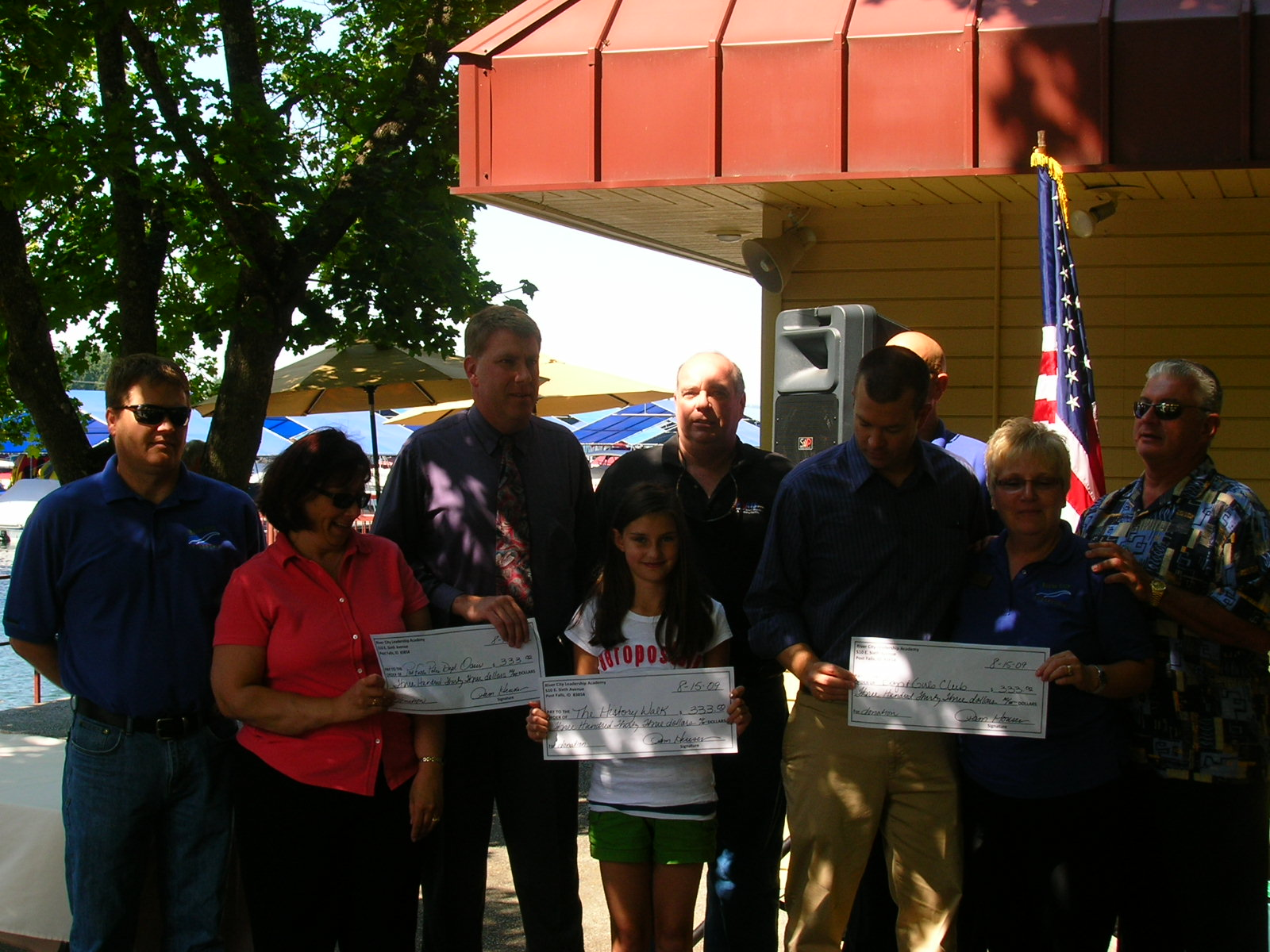 River City Leadership Academy and Award Recipients